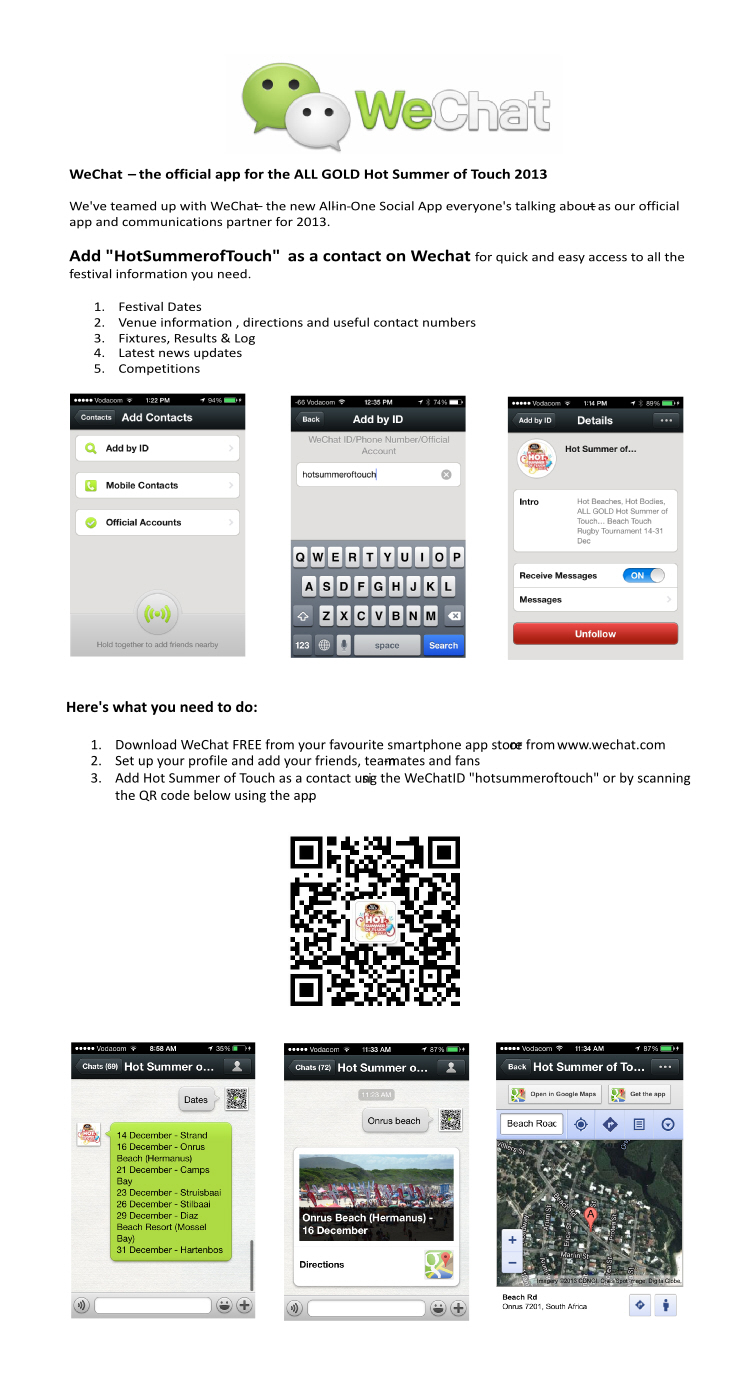 Wechat – The Official App For The All Gold Hot Summer Of